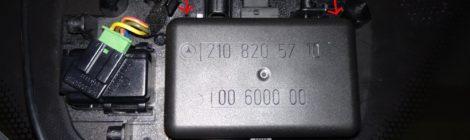 W203/W210 Yağmur Sensörü Değişimi